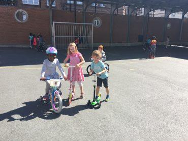 Journée vélos et trotinettes juin 2018